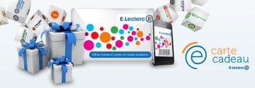 Pensez à la Carte Cadeau E.Leclerc !