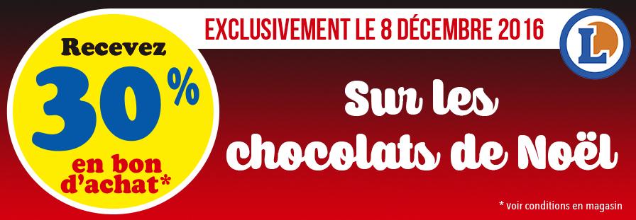 CHOCOLATS DE NOEL 2016