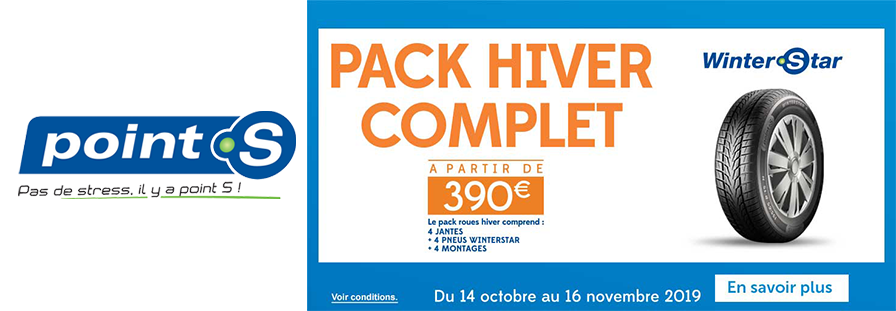 POINT S : PACK HIVER COMPLET