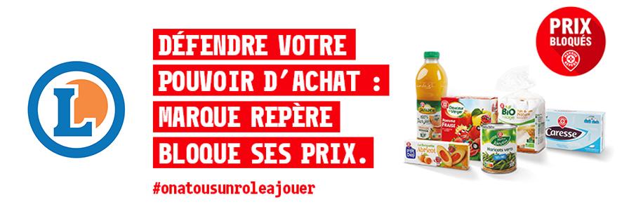E.Leclerc - Prix bloqués