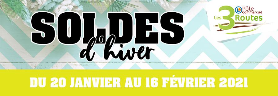 SOLDES D'HIVER 2021 : C'est parti !