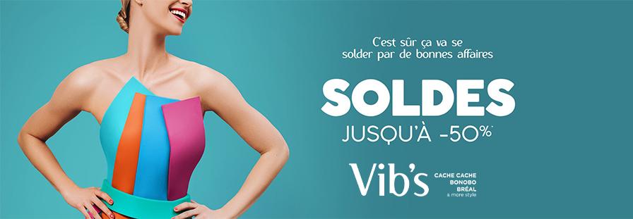 SOLDES VIB'S : Jusqu'au -50%