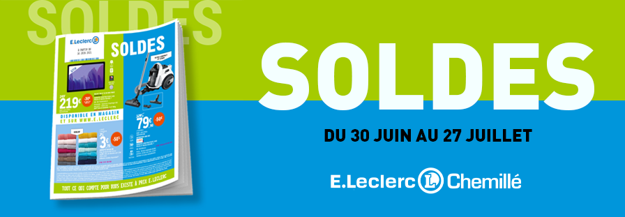 SOLDES E.LECLERC : Jusqu'à -70% !